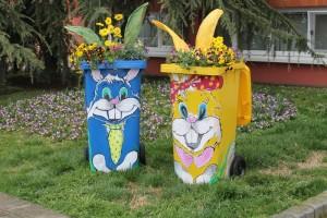 Originalna Uskršnja dekoracija Komunalac