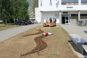 Kreativna instalacija od cvijeća