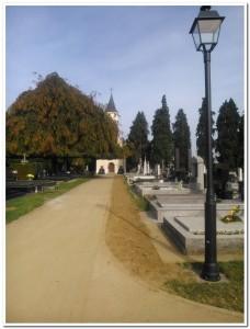Javna rasvjeta na gradskom groblju Koprivnica