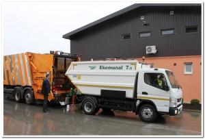 manje vozilo za sakupljanje otpada